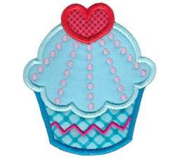 Hello Cupcake Applique 4