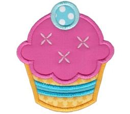 Hello Cupcake Applique 5