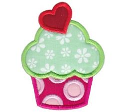 Hello Cupcake Applique 8