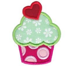 Hello Cupcake Applique 8