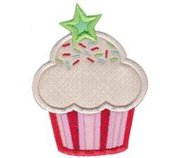 Hello Cupcake Applique 9