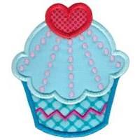 Hello Cupcake Applique