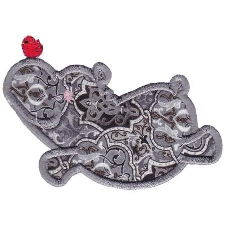 Hippos Applique 10