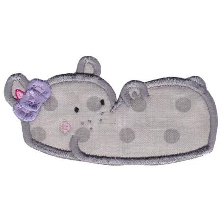 Hippos Applique 14