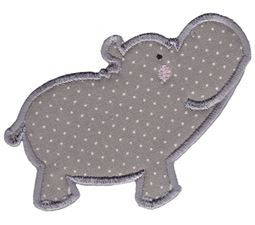 Hippos Applique 2