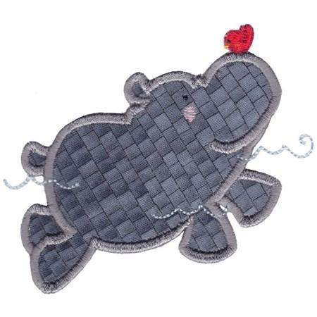 Hippos Applique 4