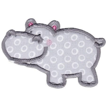 Hippos Applique 7