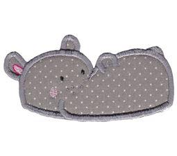 Hippos Applique 8