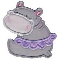 Hippos Applique