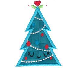 Kawaii Christmas Applique 4