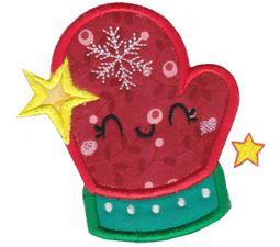 Kawaii Christmas Applique 7
