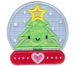Kawaii Christmas Applique 9