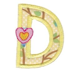 Layer Alpha Applique d