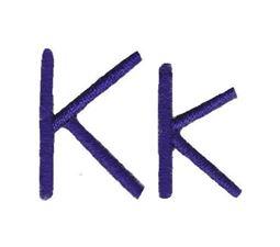 Lego House Font K