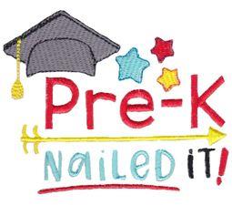 Pre K Nailed It