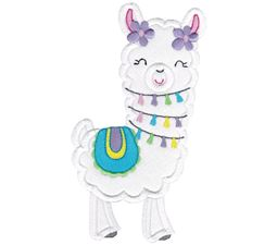 Love My Llama Applique 13
