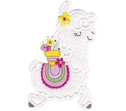 Love My Llama Applique 8