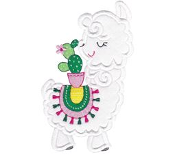 Love My Llama Applique 9