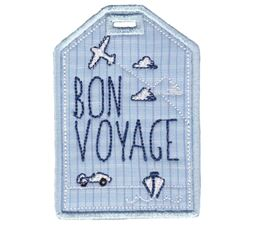 Luggage Tags Applique 1