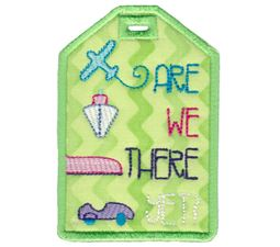 Luggage Tags Applique 10