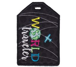 Luggage Tags Applique 11