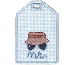 Luggage Tags Applique 13