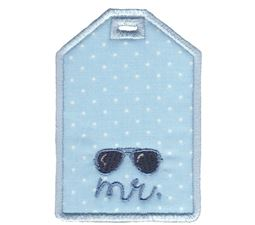 Luggage Tags Applique 15