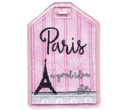Luggage Tags Applique 2