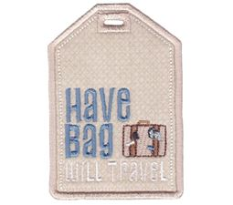 Luggage Tags Applique 3