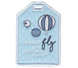 Luggage Tags Applique 5