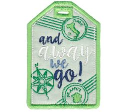 Luggage Tags Applique 6