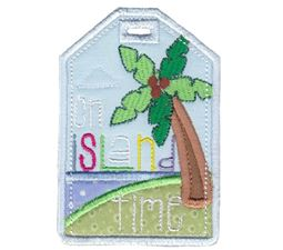 Luggage Tags Applique 7