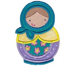 Matryoshka Applique 11