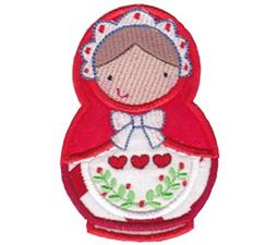 Matryoshka Applique 3