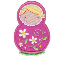 Matryoshka Applique 4