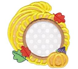 Monogram Thanksgiving Applique 7
