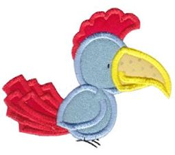My Friend Bird Applique 6