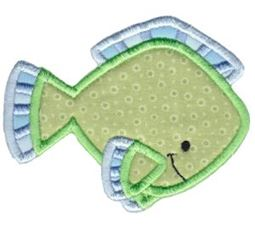 Ocean Creatures Applique 2