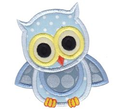 Owls Applique 1
