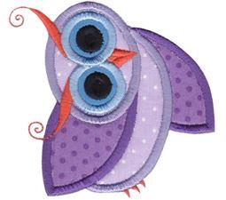 Owls Applique 10