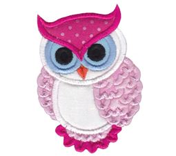 Owls Applique 11