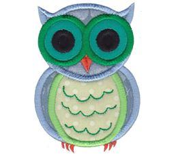 Owls Applique 3