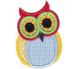 Owls Applique 5