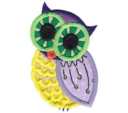 Owls Applique 6