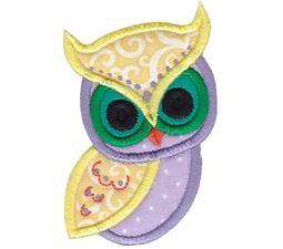 Owls Applique 7