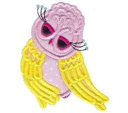Owls Applique 8
