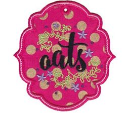 Pantry Labels Applique 6