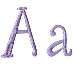 Quirky Girl Alphabet A