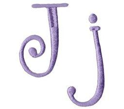 Quirky Girl Alphabet J