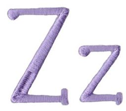 Quirky Girl Alphabet Z